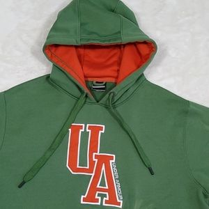 Under Armour Hoodie Large Green